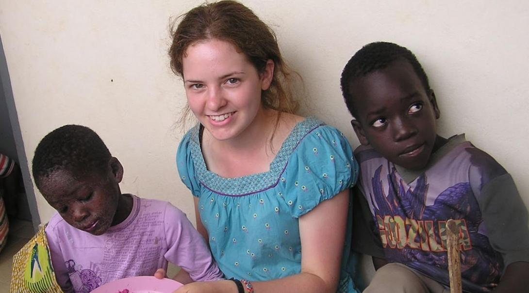 Esther S in Togo
